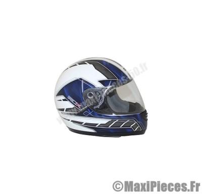 casque intégral adx rs1 décor blanc/bleu taille xl (61-62 cm)