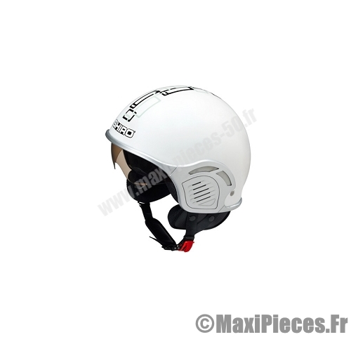 Casque jet maxi scooter.