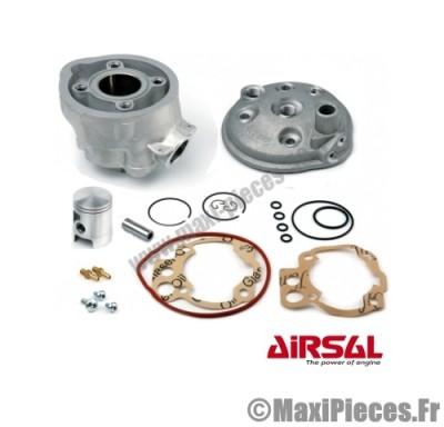 kit haut moteur 50 à boite airsal alu pour : minarelli am6 aprilia rs rx 50 malaguti xsm xtm peugeot xp6 xps yamaha tzr ...