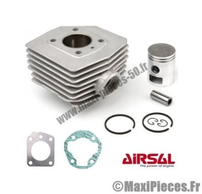 kit cylindre piston airsal alu pour mbk 51 (av 10 av 51 ).