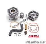 haut moteur 50cc airsal alu pour peugeot speedfight 1 et 2 x-fight elystar metal-x ...