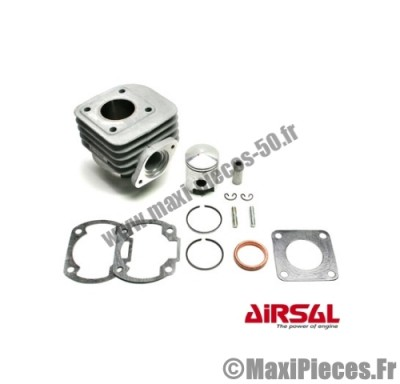 kit 50 cylindre piston airsal alu 2t air kymco agility rs dink top boy (axe12)