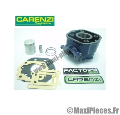kit cylindre piston 50cc carenzi : pour moteur euro2 derbi gpr senda drd sm 50 x-treme x-race gilera gsm ...