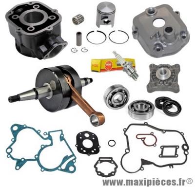 pack kit moteur complet type origine(haut moteur, vilo, roulement, joint...)pour: euro3 derbi senda drd x-treme x-race sm gpr gilera rcr smt aprilia rs rx sx ...