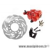 Kit frein a disque Ø240 étrier double piston adapt mbk nitro yamaha aerox roue 13