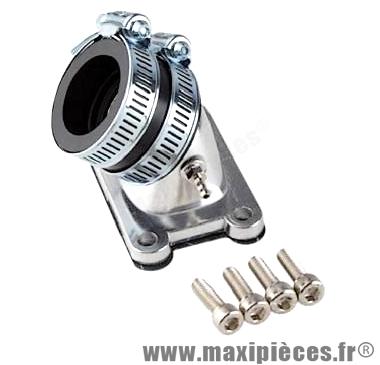 pipe pour carburateur 50cc diametre 15 a 21 mm : minarelli am6 aprilia rs rx 50 malaguti xsm xtm peugeot xp6 xps yamaha tzr ...