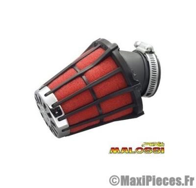 filtre à air malossi e 5 phbn phva noir mousse rouge