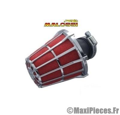 filtre a air malossi e 5 chrome mousse rouge