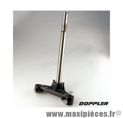 te de fourche doppler pour fourche d'origine diamètre 30 : booster spirit de 1999 à 2003 .