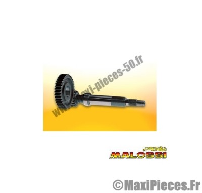 transmission engrenages primaires malossi (dents 20/72) pour maxi scooter 125/150 : aprilia scarabeo .