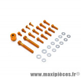 Déstockage ! Kit vis carrosserie OR pour mbk/yamaha Booster BwS (x17)