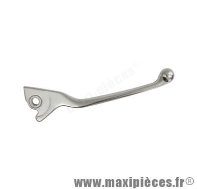 levier de frein de scooter adaptable origine pour piaggio lx 50 2t(heng tong)/lx 4t/125 liberty 4t (heng tong) (la poste) droit alu poli