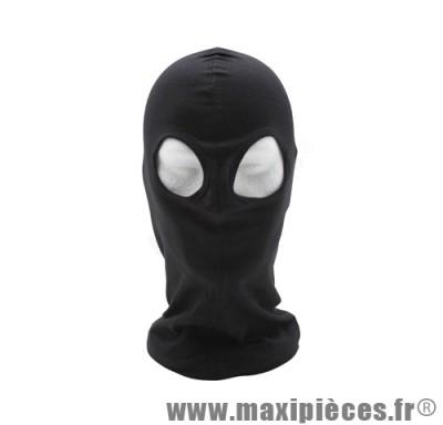 Cagoule sous casque chouette taille unique couleur noir