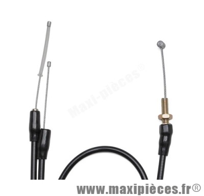 transmission de gaz / cable d'accelerateur de scooter pour piaggio / gilera runner dna