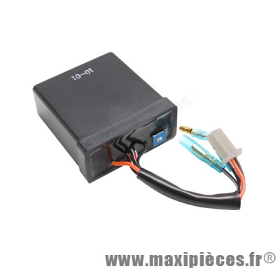 bloc boitier cdi avance variable replay pour scooter mbk booster spirit nitro (5 fils) yamaha bw's original aerox... (5 fils 3 fonctions)
