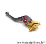 levier de frein de scooter pour nitro/aerox hi-tech gauche or/gris