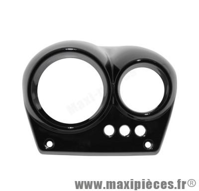 prix discount ! couvre compteur noir mat adaptable origine pour mbk nitro/yamaha aerox