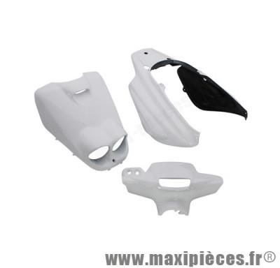 Kit carrosserie carénage blanc pour booster rocket (5 pièces)