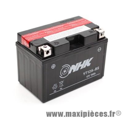 batterie 12v /10ah (yt12a-bs) sans entretien pour suzuki 250 burgman/400 burgman... (dimension: lg150xl87xh105)