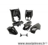 Kit carrosserie carénage noir pour ovetto jusqu'à 2007/neos jusqu'à 2007 (7 pièces)