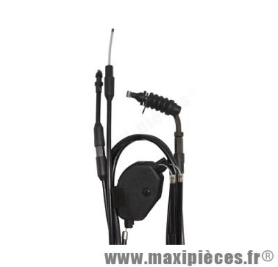 transmission de gaz / cable d'accelerateur de scooter pour cpi