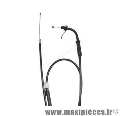 transmission de gaz / cable d'accelerateur de scooter pour mbk booster (a partir de 2004 et apres)