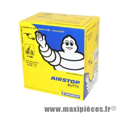 Déstockage ! Chambre a air 4 4.00x4 michelin 4ab standard coude 90