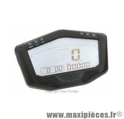 Compteur digital racing multi-fonctions universel koso db-02r 12v