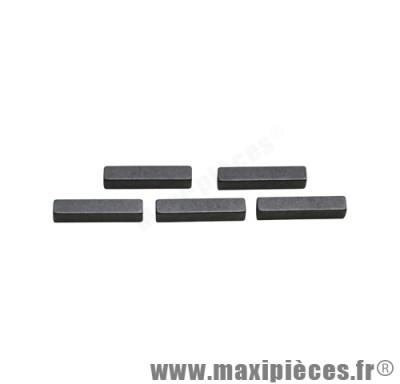 clavette pignon moteur type origine (vendu a l'unité) adaptable pour moteur minarelli am6 pour: rs rx mx tzr dtr dtx xp6 xps x-limit power beta rr sm mrx rs2 smx spike hrd ...