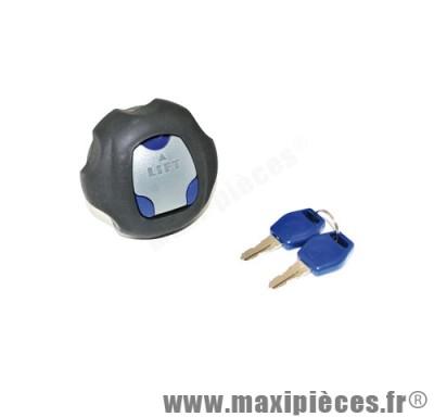 bouchon d'essence antivol de 50 a boite pour suzuki rmx/smx + derbi senda (diametre reservoir 52mm)