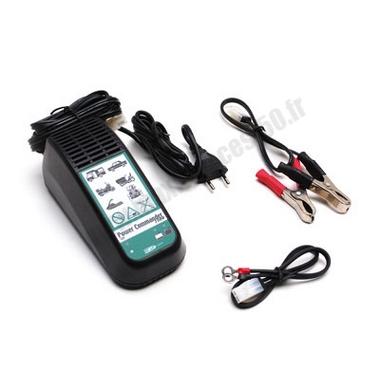 chargeur pour batterie (landport pc1800 12v 1.8ah)  pour scooter maxi scooter moto ...