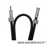 transmission / cable de compteur de mob pour mbk 51 huret (lg 703mm)