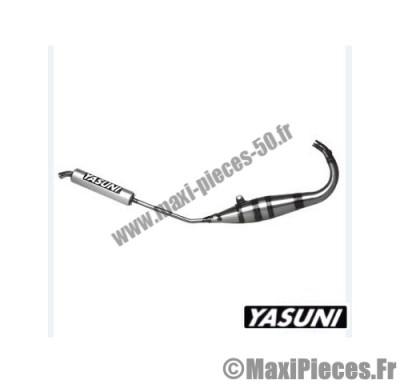 pot d'echappement yasuni r1 (passage bas) pour mbk tzr yamaha x-power silencieux kevlar.
