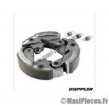 mâchoire d'embrayage doppler pour peugeot 103 spx sp 51 le jeu de 3.