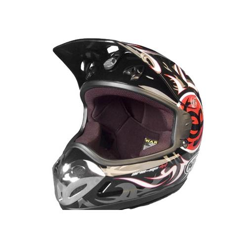 destockage casque moto cross aris mx2 noir deco rouge taille xl 59 60 ebay. Black Bedroom Furniture Sets. Home Design Ideas
