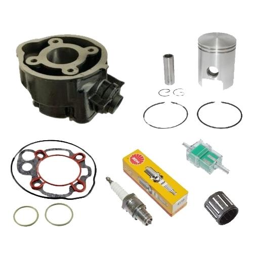 kit cylindre piston fonte moteur am6 50cc moto yamaha dtr dt r tzr dtx hrd neuf ebay. Black Bedroom Furniture Sets. Home Design Ideas