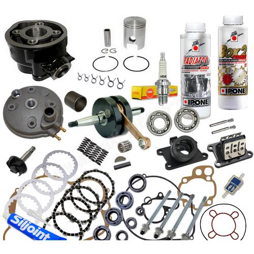 kit cylindre piston haut moteur am6 moto yamaha tzr dt dtx