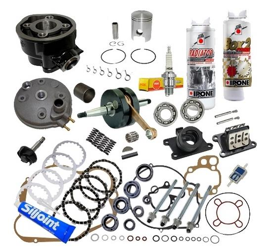 kit cylindre piston haut moteur am6 moto yamaha tzr dt dtx dtr 50cc complet neuf ebay. Black Bedroom Furniture Sets. Home Design Ideas