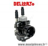 carburateur dellorto phbg 19 am racing noir pour mob scooter et mecaboite