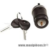 Contacteur a clé serrure neiman 50cc universel 4 broches : peugeot xp6 suzuki rmx/smx ...