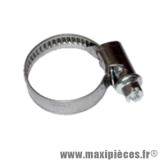 Collier de serrage inox 25x40mm (A l'unité) pour Scooter, Mécaboite, Mobylette, Maxi Scooter, Moto, Quad *Déstockage !