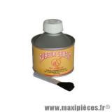 Cement de réparation vulcanisation pneu avec brosse *Déstockage !