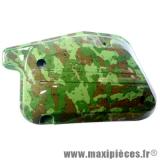 Couvercle de filtre à air camouflage pour mbk booster spirit rocket next/yamaha bw's ng spy *Prix discount !