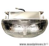 Déstockage ! Optique phare adaptable pour Piaggio typhoon 50/125cc, Gilera storm 50cc