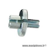 Vis creuse tendeur de cable poignée m8 x 125mm fendue pour gaine 8mm *Déstockage !
