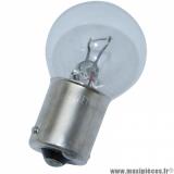 Lampe / ampoule 12V 10W mini clignotant transparent BA9S *Déstockage !