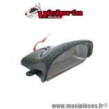 Feu arrière mini LED carbone Victoria Bull *Déstockage !