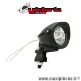 Feu halogène Victoria Bull orientable diamètre 57mm noir 35w support acier *Déstockage !