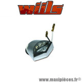 Feu plaque d'immatriculation Wiils LED chrome *Destockage !