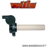 Poignée de gaz racing tirage rapide universel diamètre 22mm Wiils *Déstockage !